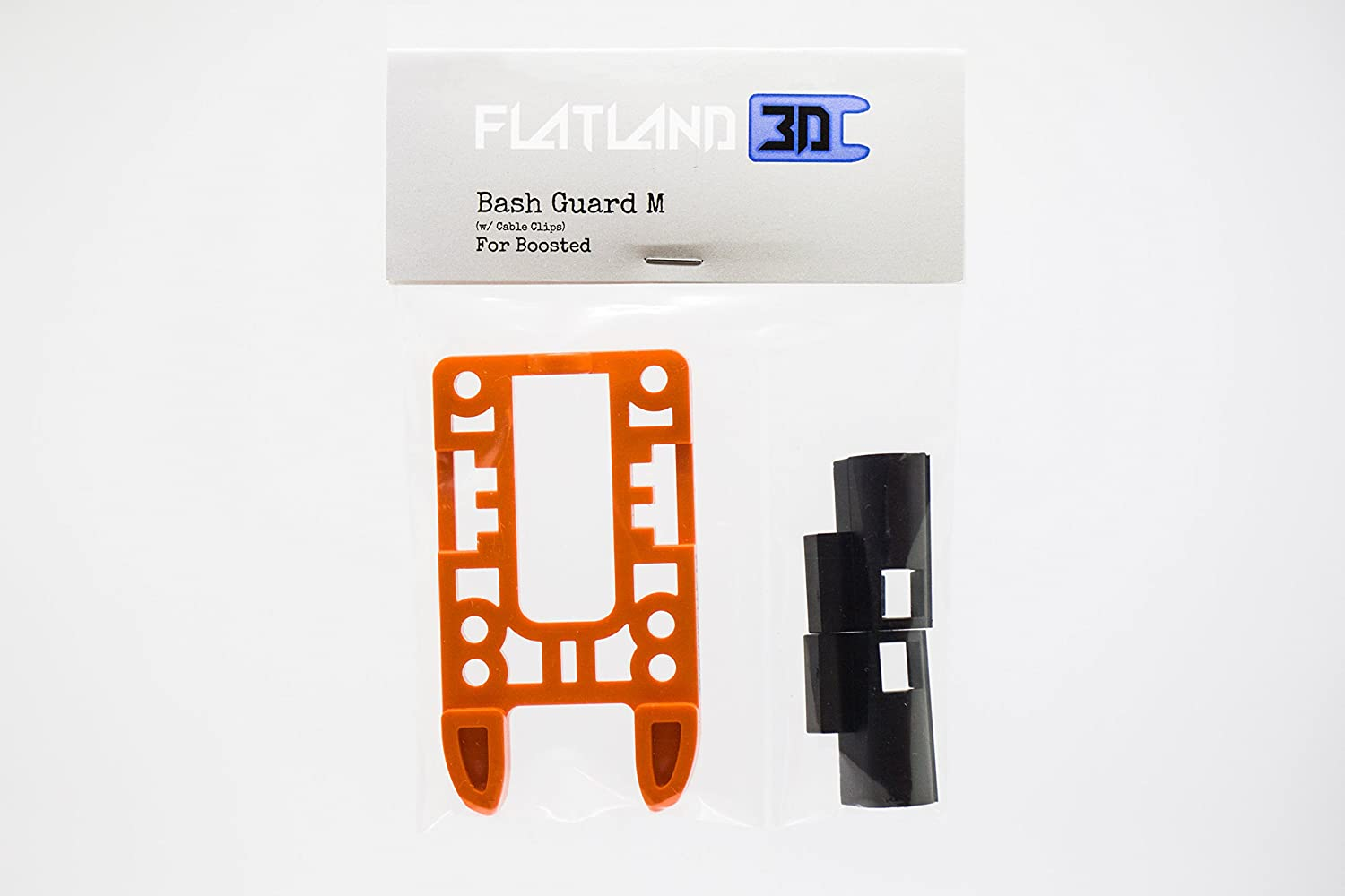 flatland3d Bash Guard M - Pronger (w/Cable Clips) - for Boosted Boards