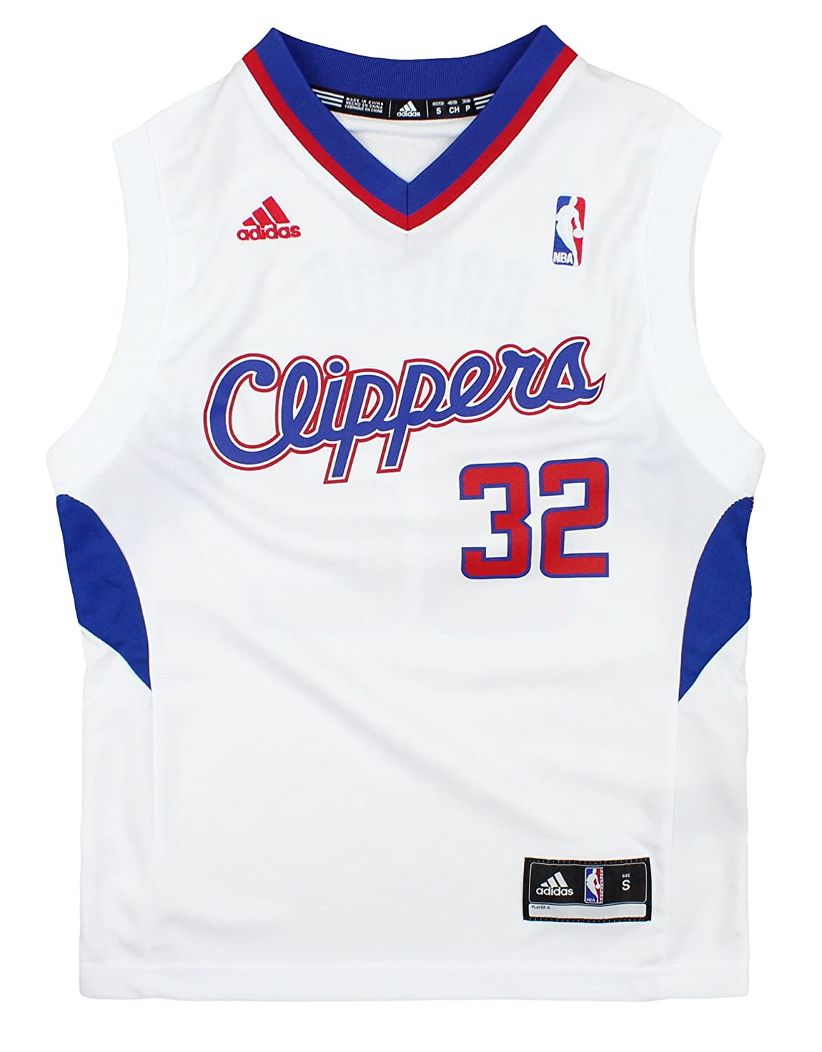 59683ada3b3 Amazon.com   Los Angeles Clippers Blake Griffin   32 NBA Youth Big Boys  Home Replica Jersey - White   Sports   Outdoors