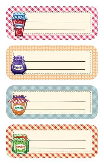 Super Avery Zweckform 59896 - Etichette per barattoli e libri, cornici  ZD69