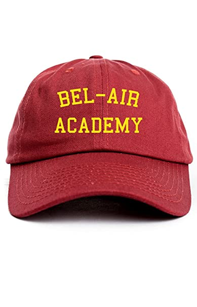 Bel-Air Academy Custom Unstructured Dad Hat Cap New - Cardinal Red ... d6ef6a8f7f0