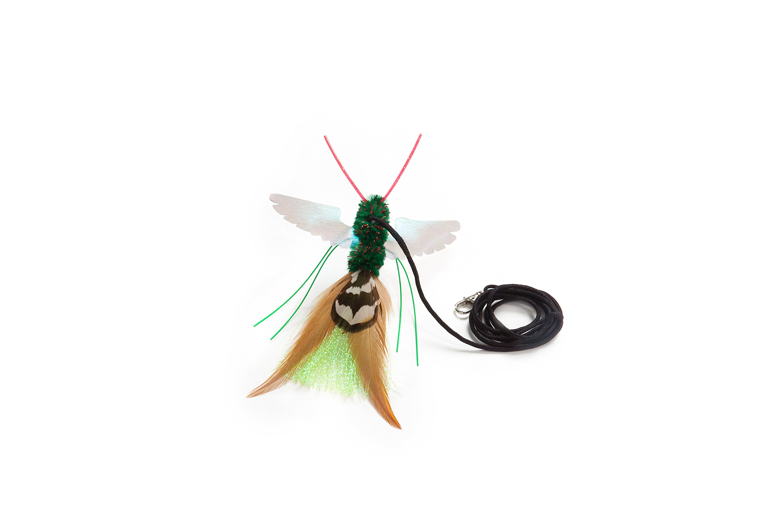 Neko Flies All New By the Maker of Its the Neko Birbug Cat Toy for Upwardly Mobile Cats!