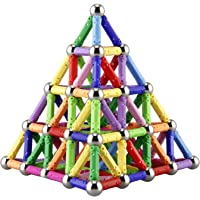 130Pc. Magnetic Building Sticks Building Blocks Set