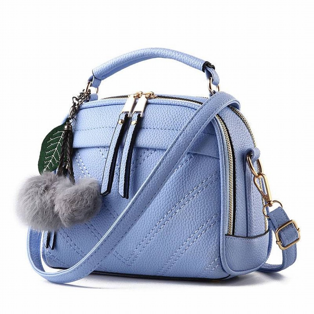 Lederhandtaschen Öl Wachs Leder Mode Allgleiches Handtasche Schulter Messenger Bag , Gelb