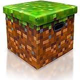 Minecraft Grass Block Storage Cube Organizer | Minecraft Storage Cube | Grass Block From Minecraft Cubbies Storage Cubes…