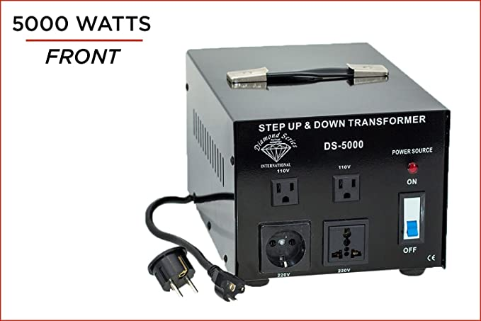 Amazon.com: Dynastar Step Up & Step Down Voltage Converter and ...