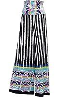 ViV Collection Women's Chevron Aztec Tribal Pattern Printed Long Palazzo Pants