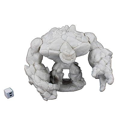 Reaper 77185: Large Earth Elemental Dark Heaven Legends Bones Miniature: Toys & Games