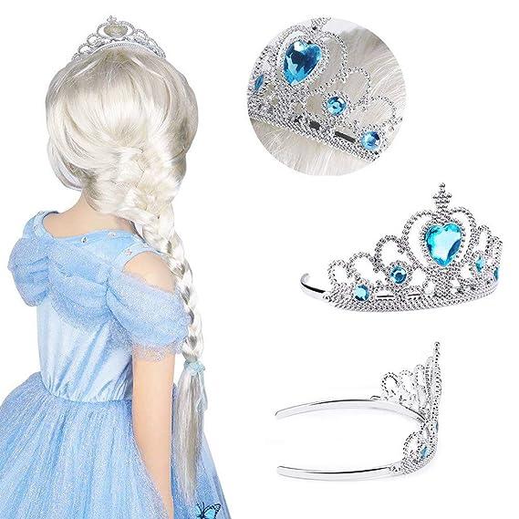 By Robelli Plastic Jewel Princess Tiara For Girls