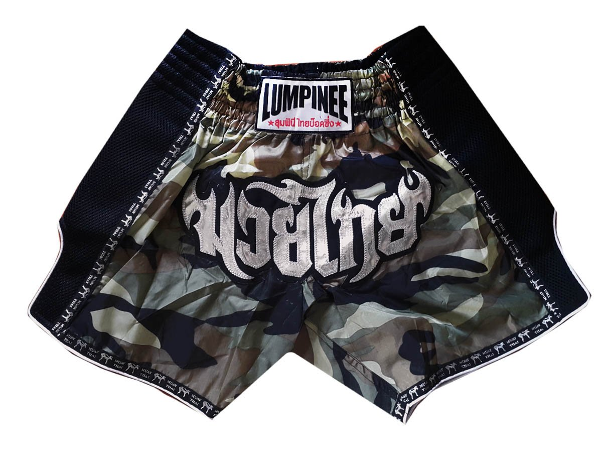 Lumpinee Retro Muay Thai Kick Boxing Shorts : LUMRTO-003
