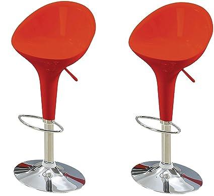Marvelous Amazon Com Major Q 8017700 22 31 Set Of 2 Adjustable Seat Theyellowbook Wood Chair Design Ideas Theyellowbookinfo