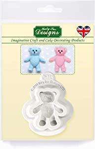 Baby Teddy Bear Mold Cake Decorating, Cupcakes, Sugarcraft and Candies