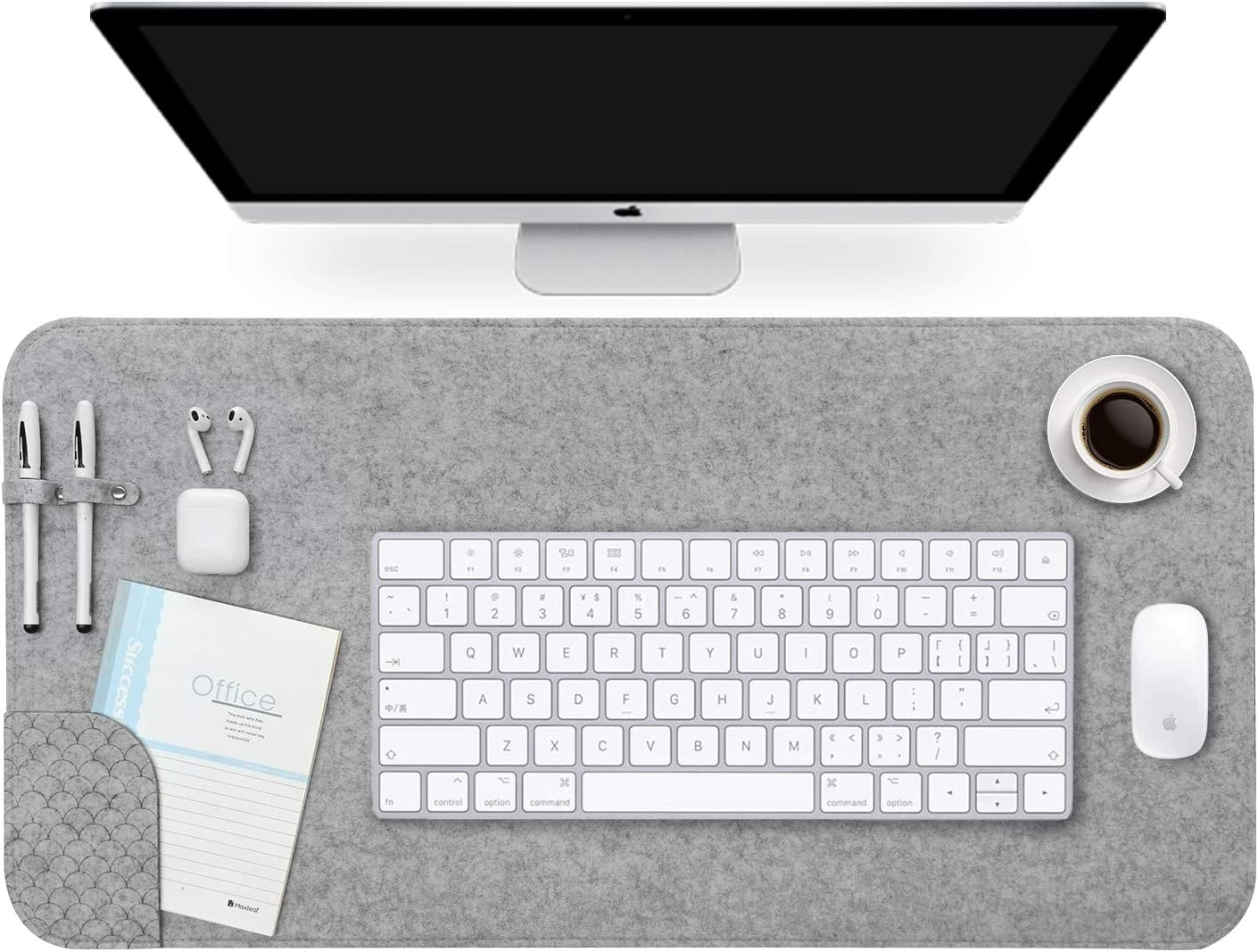 Desk Matt for Desktop, Homesy Large Mouse Pad Waterproof Desk Pads & Blotters for Home and Office Gaming, Non-Slip Desk Protector Writing Mat Organizer Multifunctional Work from Home Desk Accessory