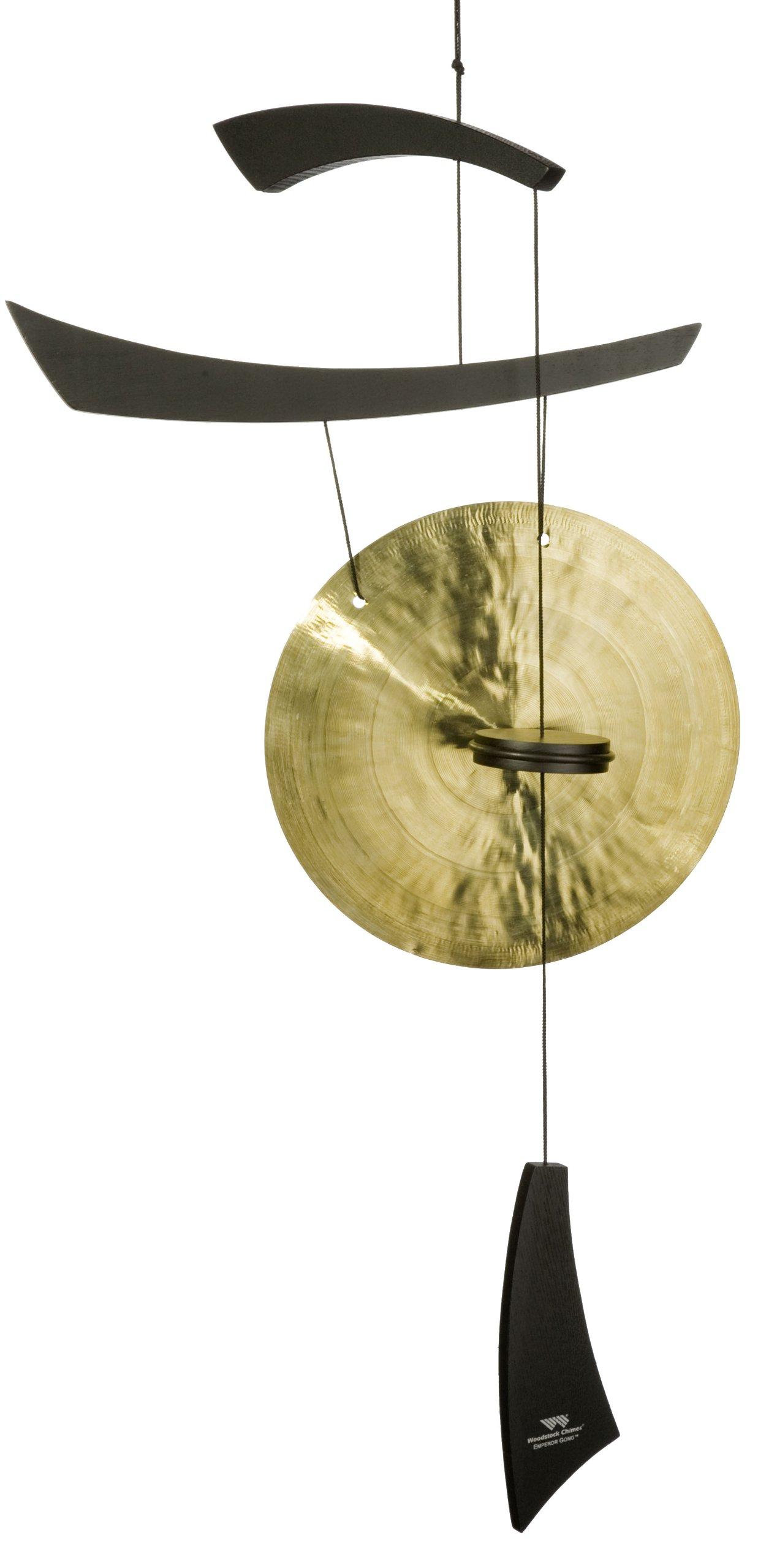 Woodstock Medium Emperor Gong, Black by Woodstock Chimes