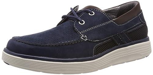 Abode Clarks Marroni Amazon Step Un shoes Pelle 4A35RjLq