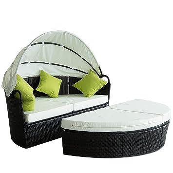Amazon.de: Outsunny Loungemöbel-Set für Garten/Terrasse, kreisförmig ...