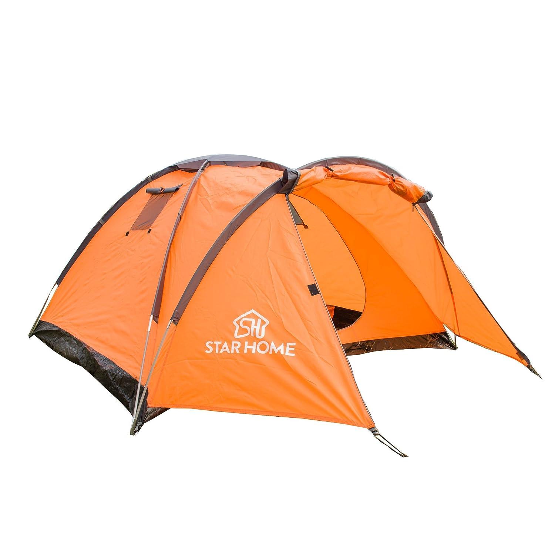 Allin Star Home mochila tienda ligero plegable 2 persona Naranja ...