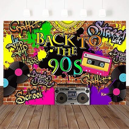 Mocsicka 90er Jahre Hintergrund Hip Hop Graffiti Brick Kamera