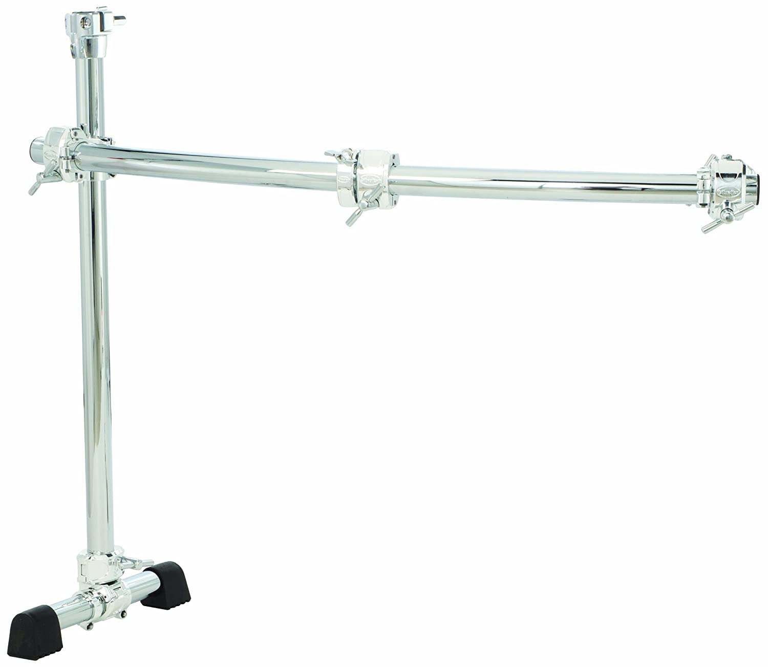 Gibraltar GCS150C Chrome Series 40-Inch Curved Rack Side with Quick Release T Clamps & RMAAs