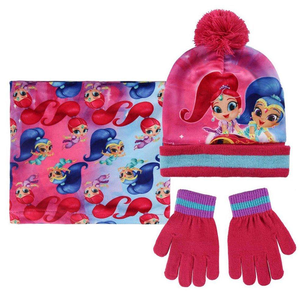 Conjunto invierno 3 piezas con pañuelo de Shimmer And Shine