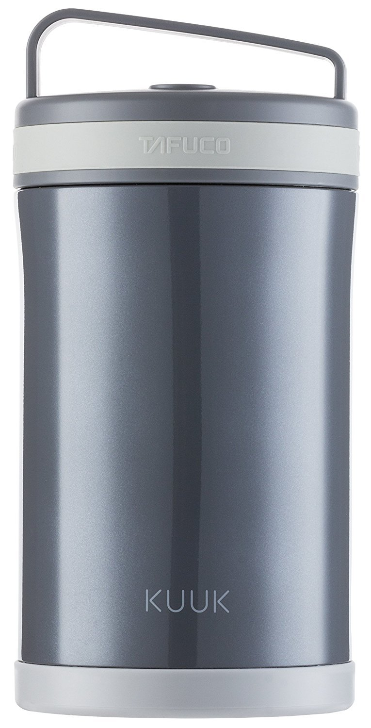 Kuuk Vacuum Food thermos Lunch Box Container Jar - 58oz / 1.8 quart - Stainless Steel