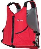 ONYX Universal Paddle Vest Universal Paddle Life Vest, Red, Oversize,