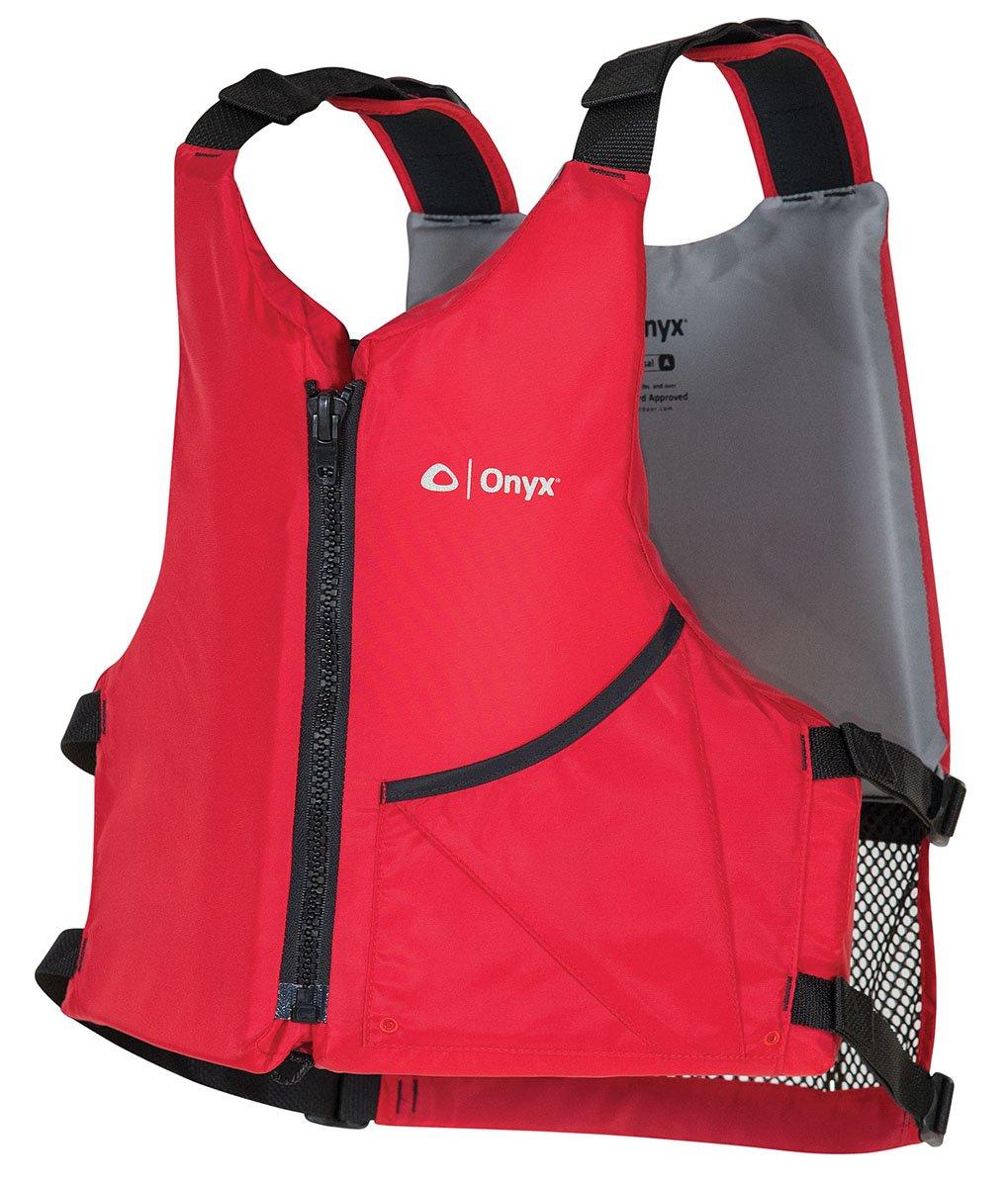 Onyx Universal Paddle Vest Universal Paddle Life Vest, Red, Oversize, by Onyx