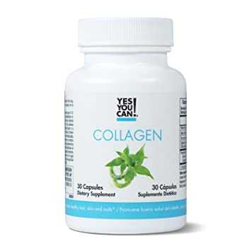 Yes You Can! Collagen - Supports Healthy Joints and Skin, Contains Biotin, Vitamin