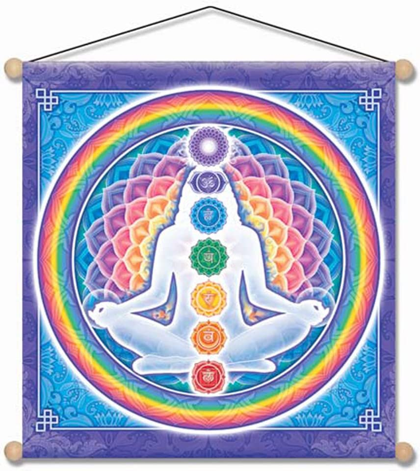 Amazon Com Mandala Arts Meditation Banner Light Body By Bryon Allen Mb15 Home Kitchen