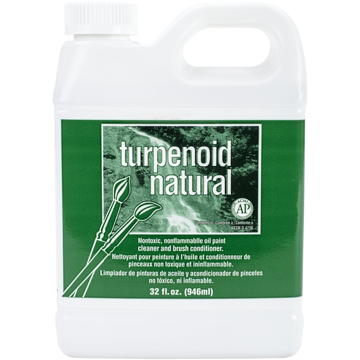 Weber Turpenoid Natural, 946ml Bottle, 1 Each (1814)