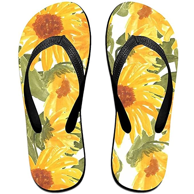 Unisex Summer Beach Slippers Nature Flip-Flop Flat Home Thong Sandal Shoes