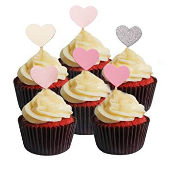 Cupcake Topper 30 Stuck Set Twinkle Diy Glitzer Mini Geburtstag