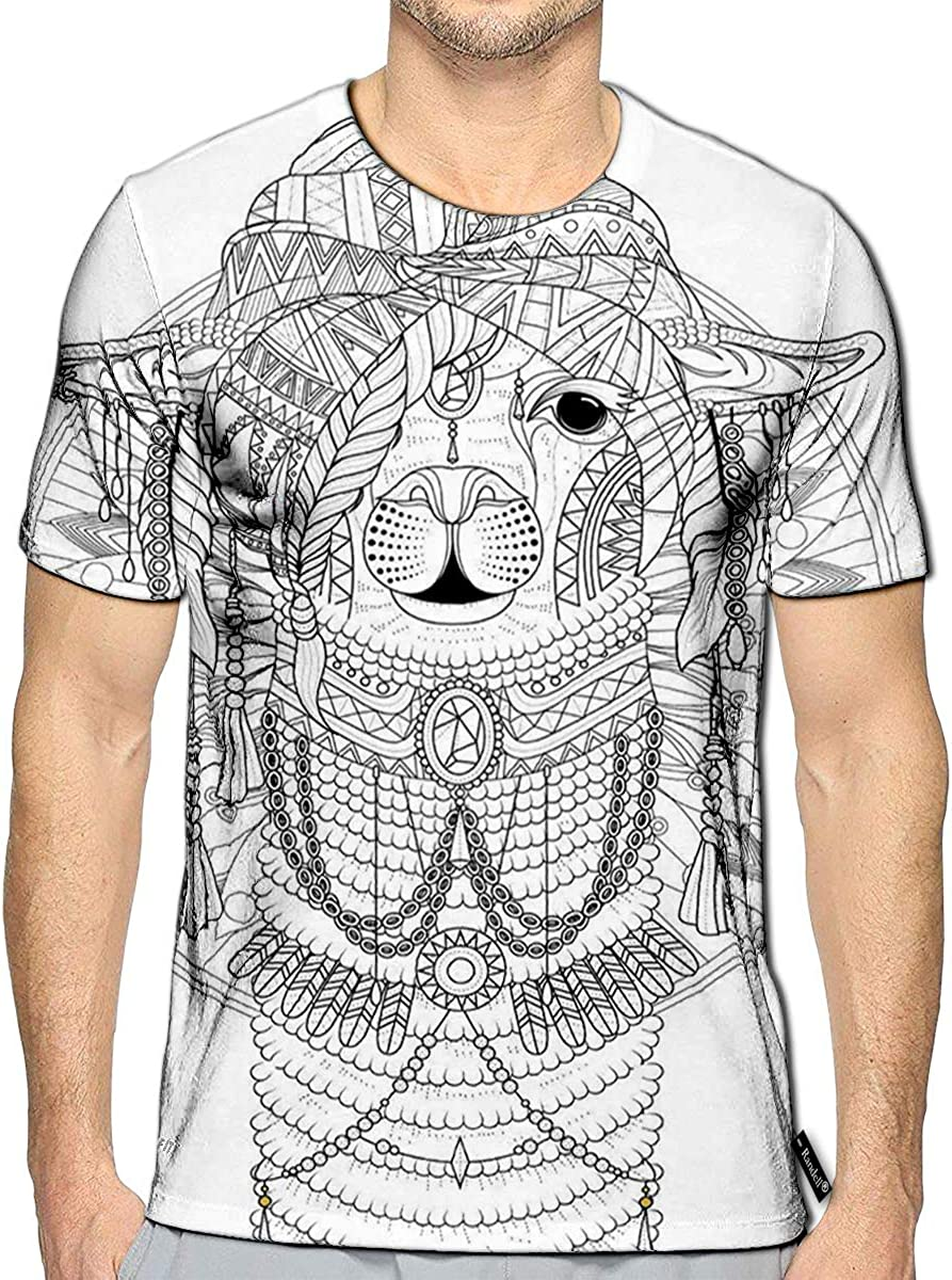 Randell 3D Printed T-Shirts Girl Power Memphis Styles Short Sleeve Tops Tees