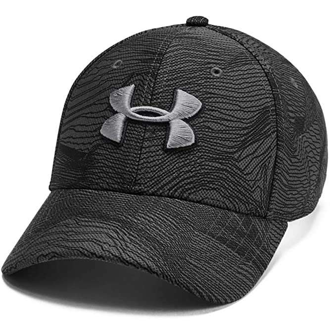 Under Armour Mens Printed Blitzing 3.0 Gorra, Hombre, Gris, XL ...
