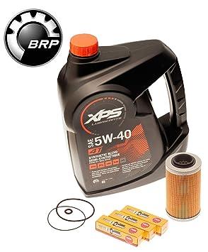 Mar Doo cambio de aceite kit w/filtro o anillos & Bujías 4-Tec
