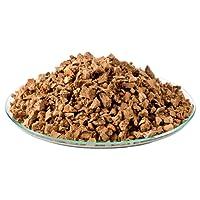 1 litre de granulés de liège (semi gros   3-8 mm) (substrat liège, grenaille de liège)