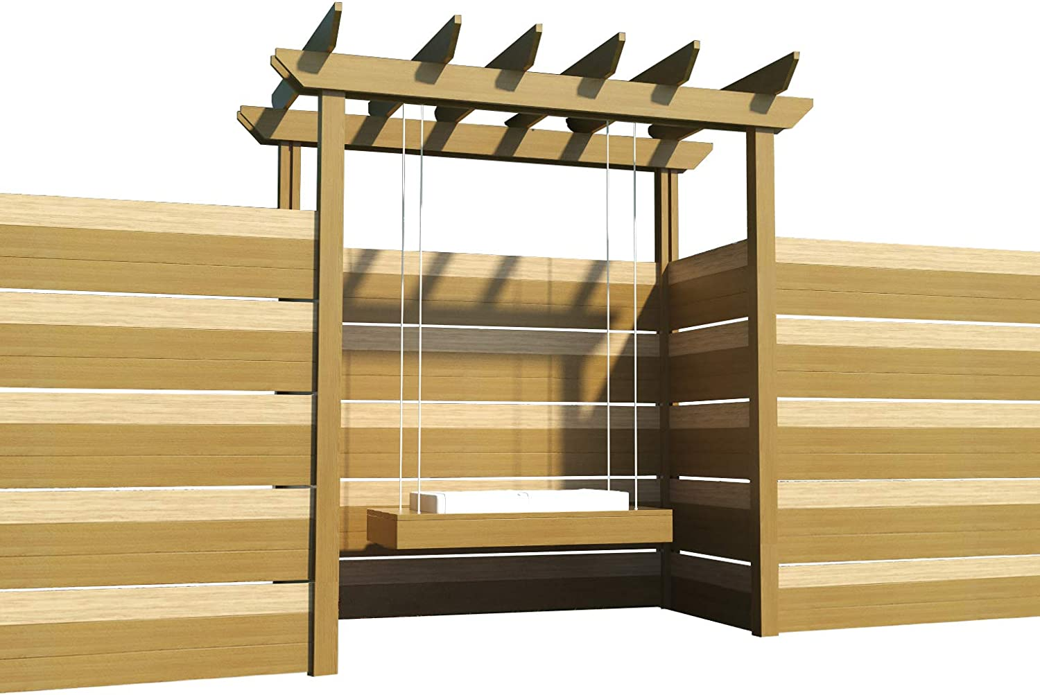 The Best DIY Plans Store Pérgola Columpio Planes Bricolaje ...
