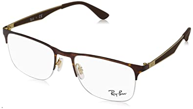 5e368cf1a50 Amazon.com  Ray-Ban Men s RX6362 Eyeglasses Gold  Top Havana 53mm  Shoes