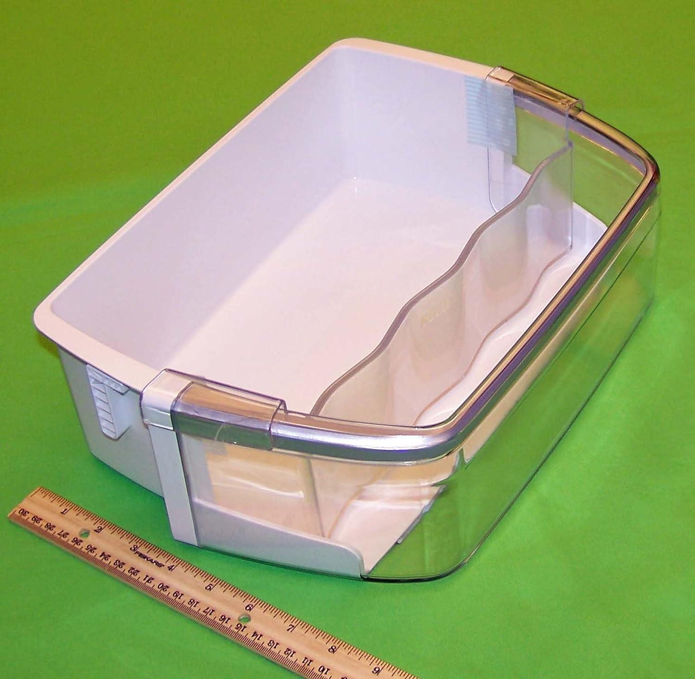 OEM LG Refrigerator Door Bin Basket Shelf Tray Assembly Originally Shipped With: LFXS30726S, LFXC24726S/02, LFXS30726S/00, LFXS30726S/01, LMX31985ST, LFX33975ST