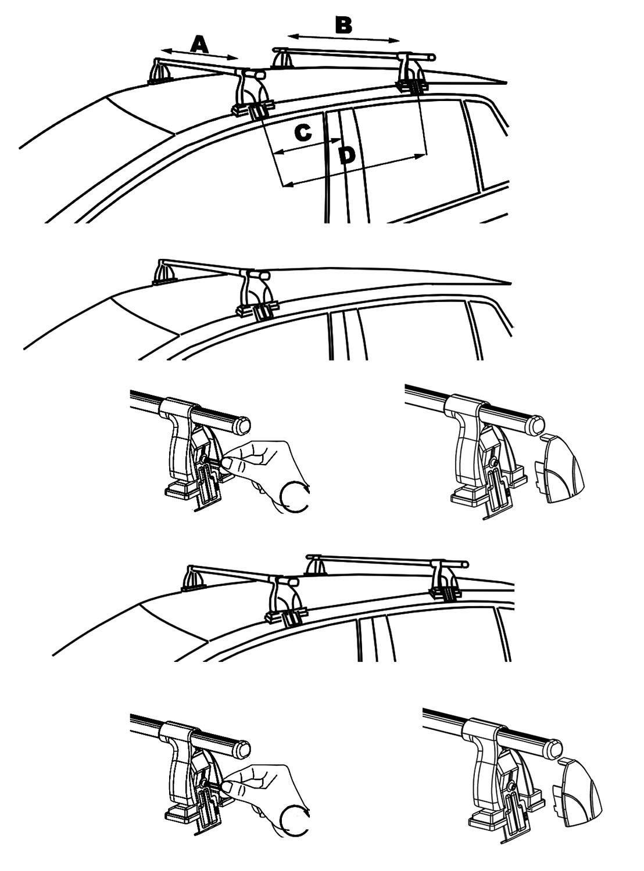 Aurilis Easy One Barre Portatutto aur156032//_ A NEU