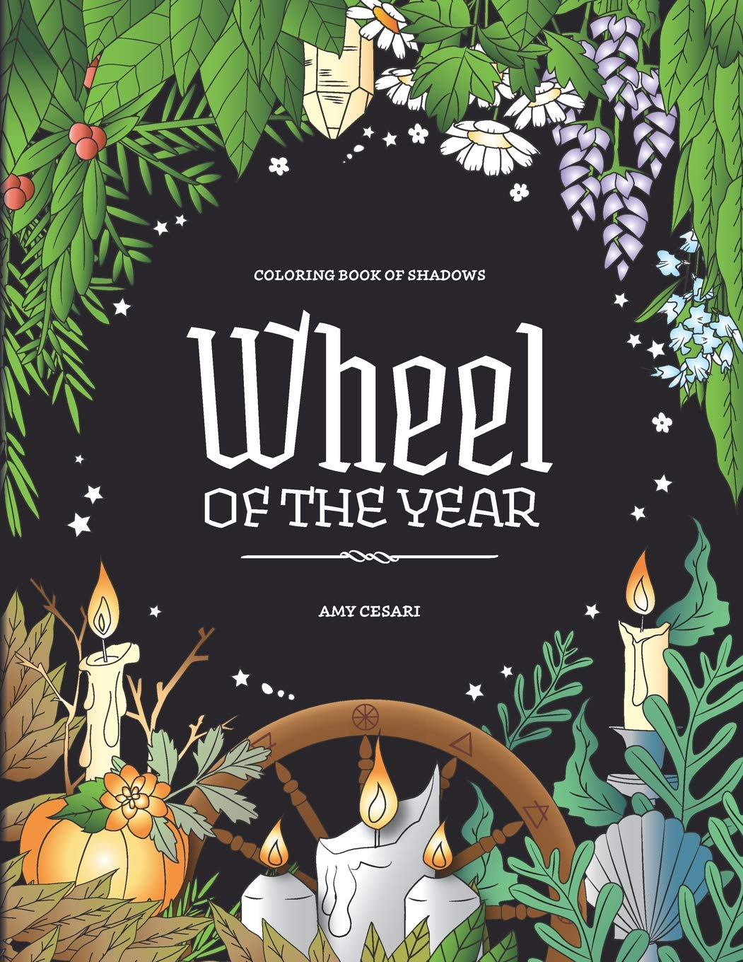 Coloring Book Shadows Wheel Year product image
