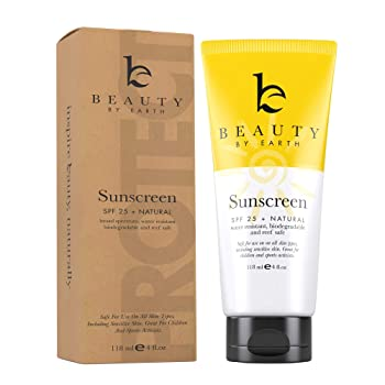 Beauty by Earth SPF 25 Sunscreen