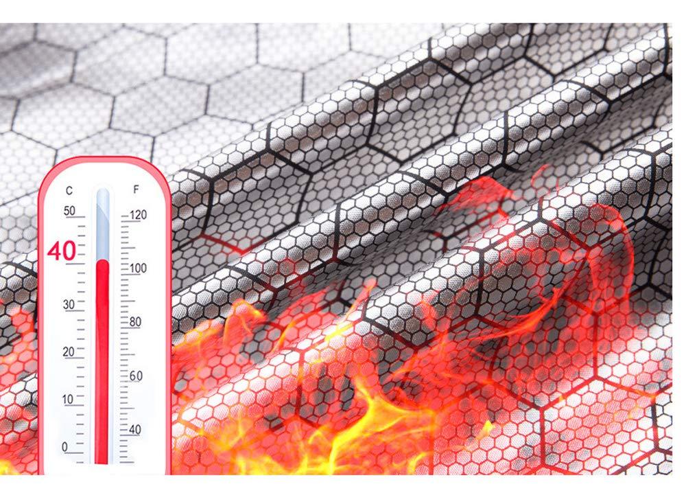 Imixcity Aggiornamento Uomo Leggero Isolato Gilet Riscaldato,USB in Fibra di Carbonio Elettrica Gilet Cappuccio Riscaldato per Lo Sci di Ciclismo