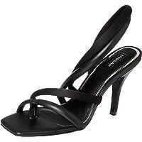 Jaggar Women's Sway Satin Court Shoes, Black