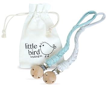 Amazon.com: Clip para chupete de bebé orgánico para niños y ...
