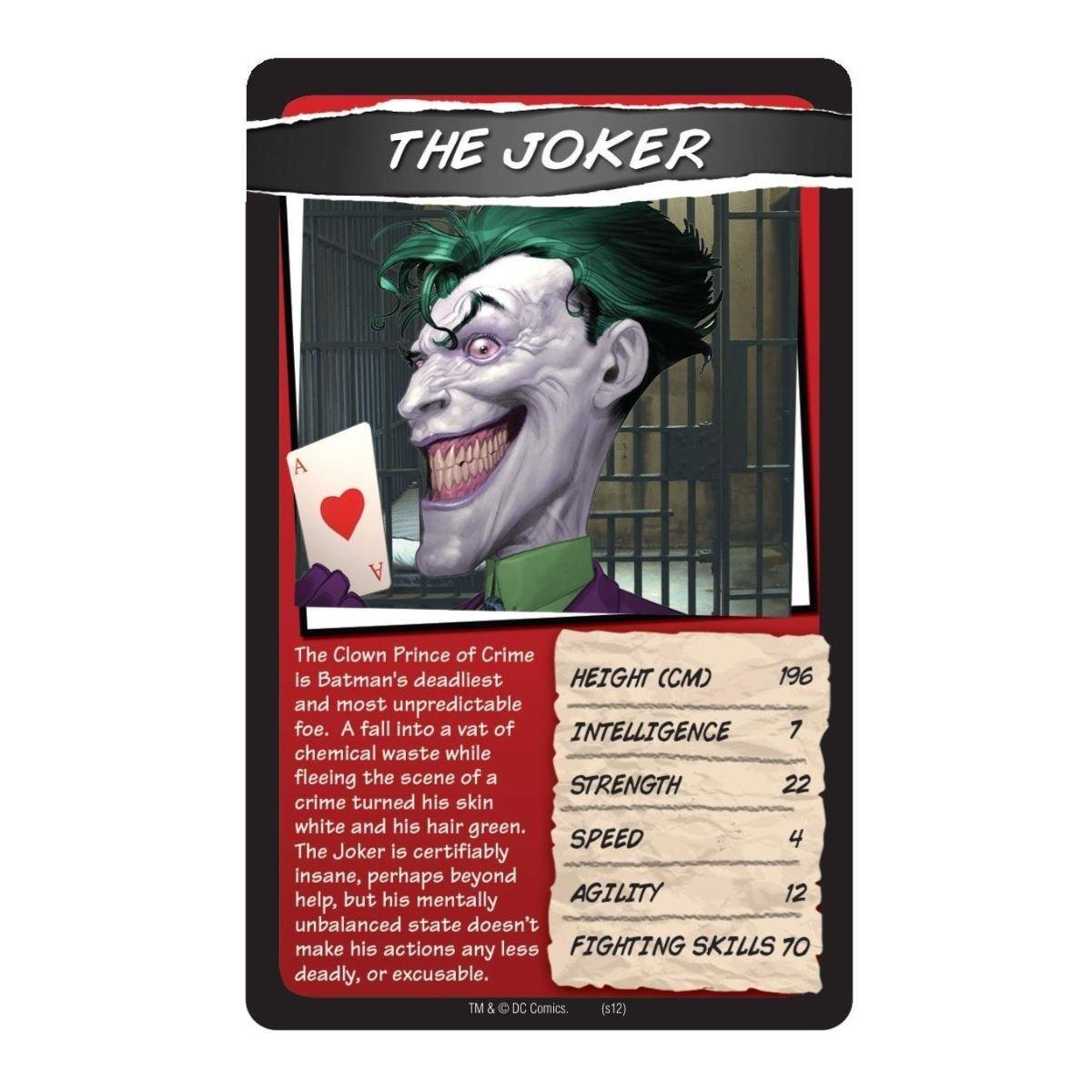 DC Comics Top Trumps Card Game Random Supply
