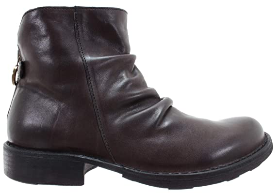 BAKER Women/'s Shoes Ankle Boots Rusty 18 Cusna Nero Rocker Black IT FIORENTINI