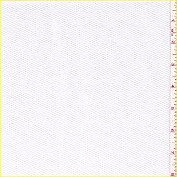 60quot White Cotton Pique Fabric 15 Yards Wholesale By The Bolt