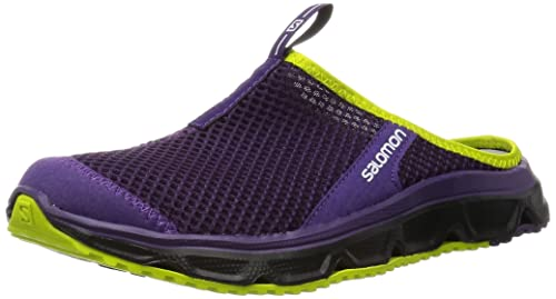 puhdistushinnat halvat hinnat paras aito SALOMON RX Slide 3.0 Womens Slip On Shoes UK 4 Cosmic Purple ...