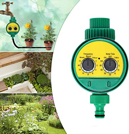 "Temporizador Riego Programador Riego Temporizador de Agua 3/4"" Temporizador de Riego Automáticamente Regar para jardín, césped, Patio: Amazon.es: Hogar"