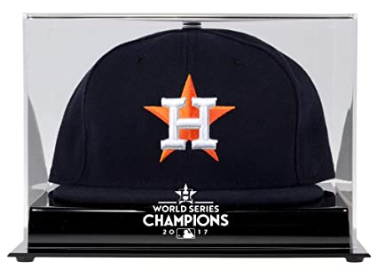 286095da460 Image Unavailable. Image not available for. Color  Sports Memorabilia Houston  Astros 2017 MLB World Series Champions Acrylic Logo Cap ...